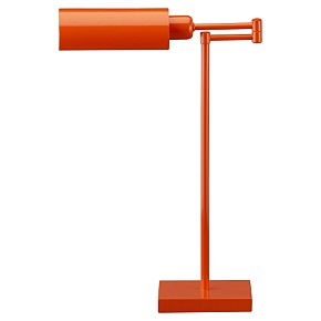 For Those Of You Who Want To Add A Splash Of Color Without Spending A Lot  Of Money, Consider This Affordable Script Desk Lamp From CB2.