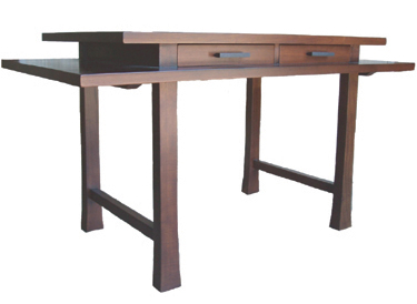 shinto desk available at high fashion home is made of solid walnut from responsibly forested trees in china an extremely well made piece of furniture asian inspired furniture